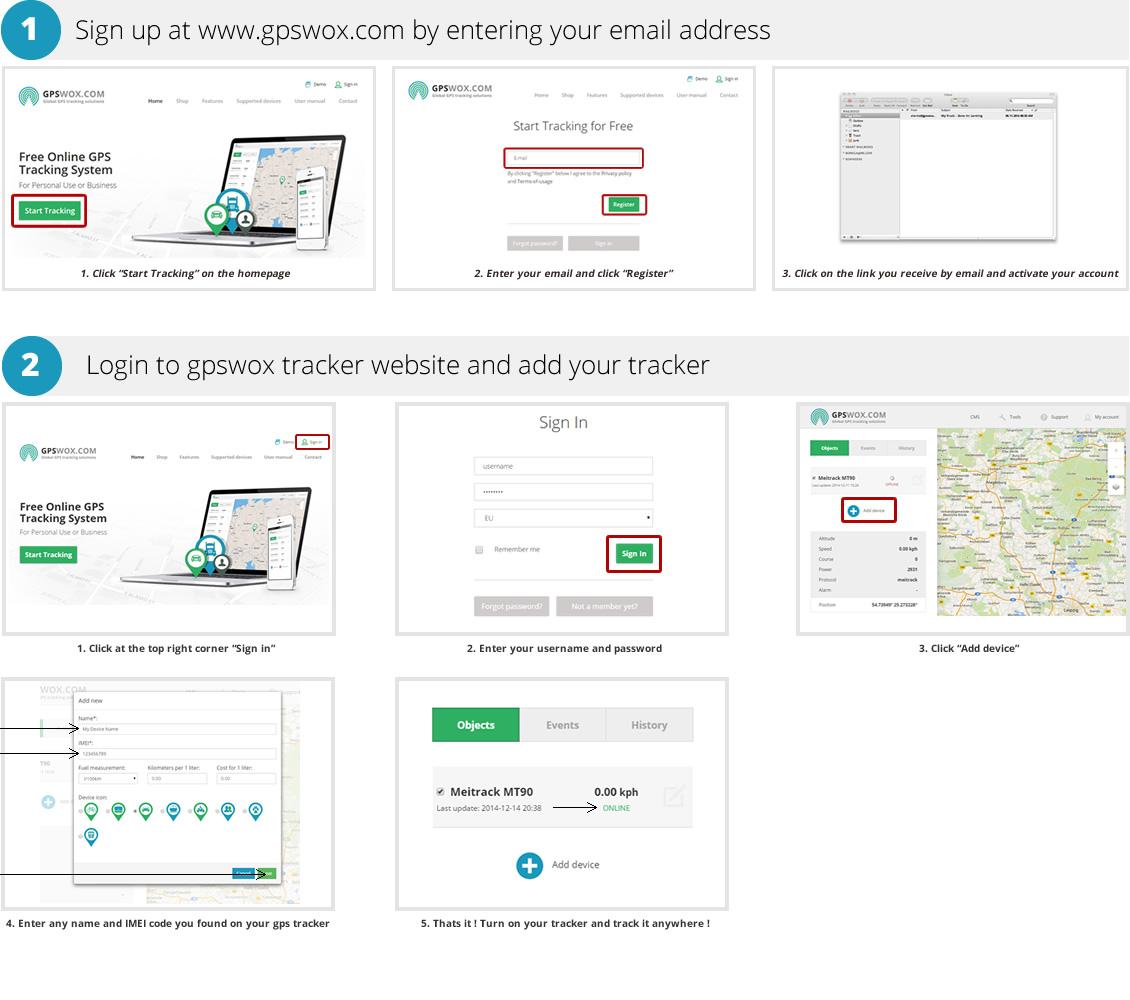 Ios Tracking App Setup Gps Tracking Amp Fleet Management