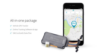 GPSWOX 3G Vehicle Tracker (All-in-one)